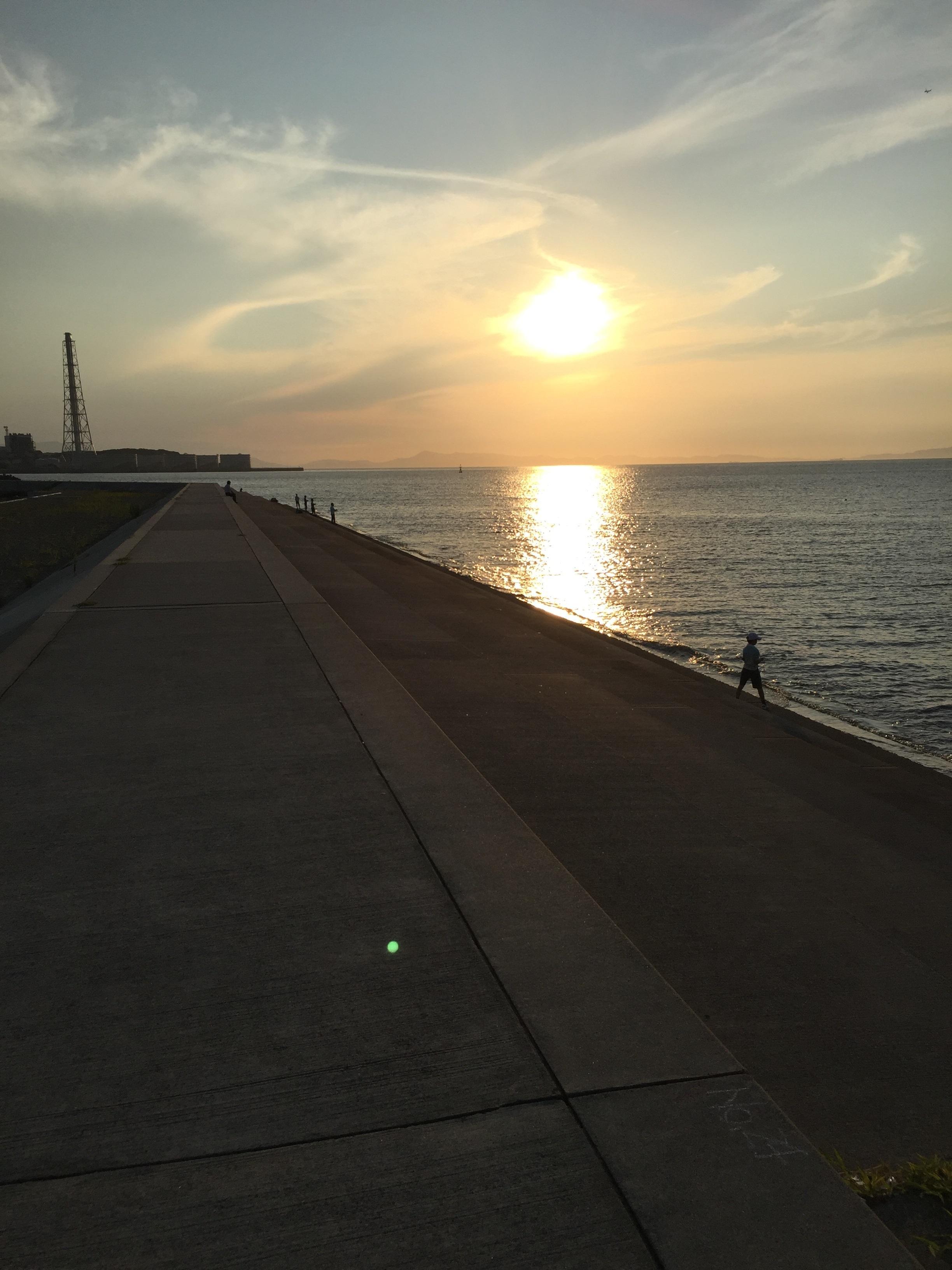 深日港の釣り場オススメポイント紹介、大阪泉南で春~秋イカ狙いのエギングにオススメの漁港