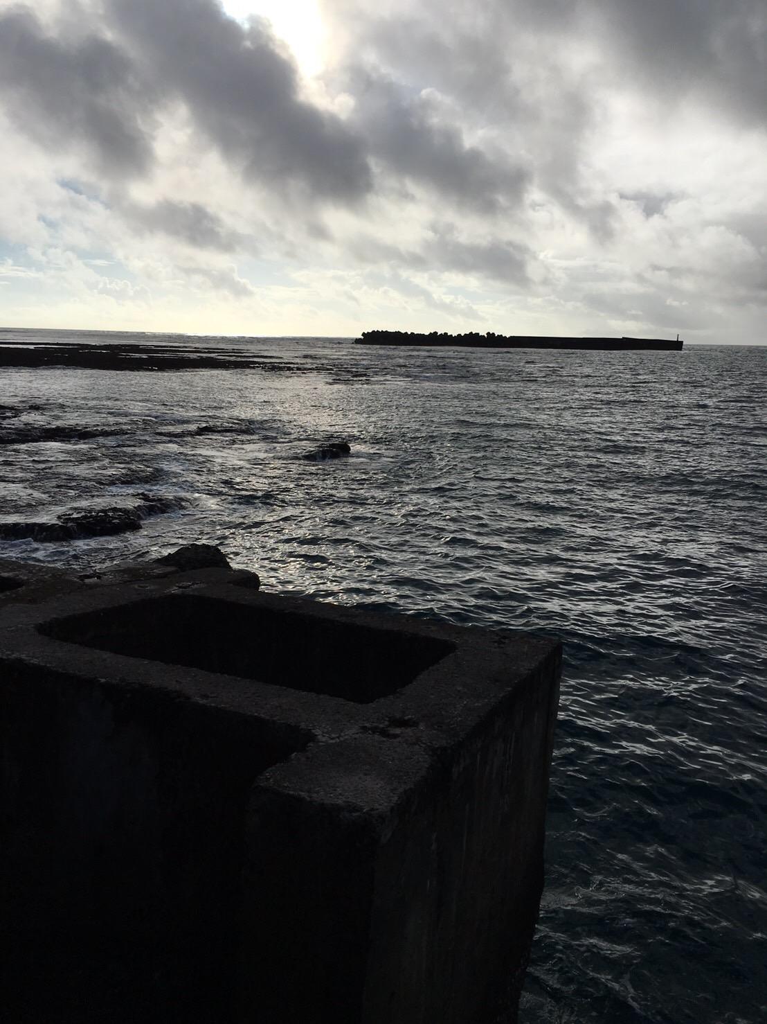 亀徳港の釣り場紹介、鹿児島徳之島のフェーリー乗り場で大型GT狙い
