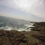 樫野崎の釣り場紹介、和歌山南紀串本大島の潮通しの良いエギングとショアキャスティングにオススメの地磯