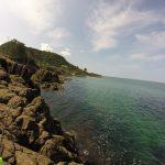 砂方ヒラトコの釣り場紹介、シャローで藻の多いアコウと春イカ狙いにオススメの京丹後の地磯
