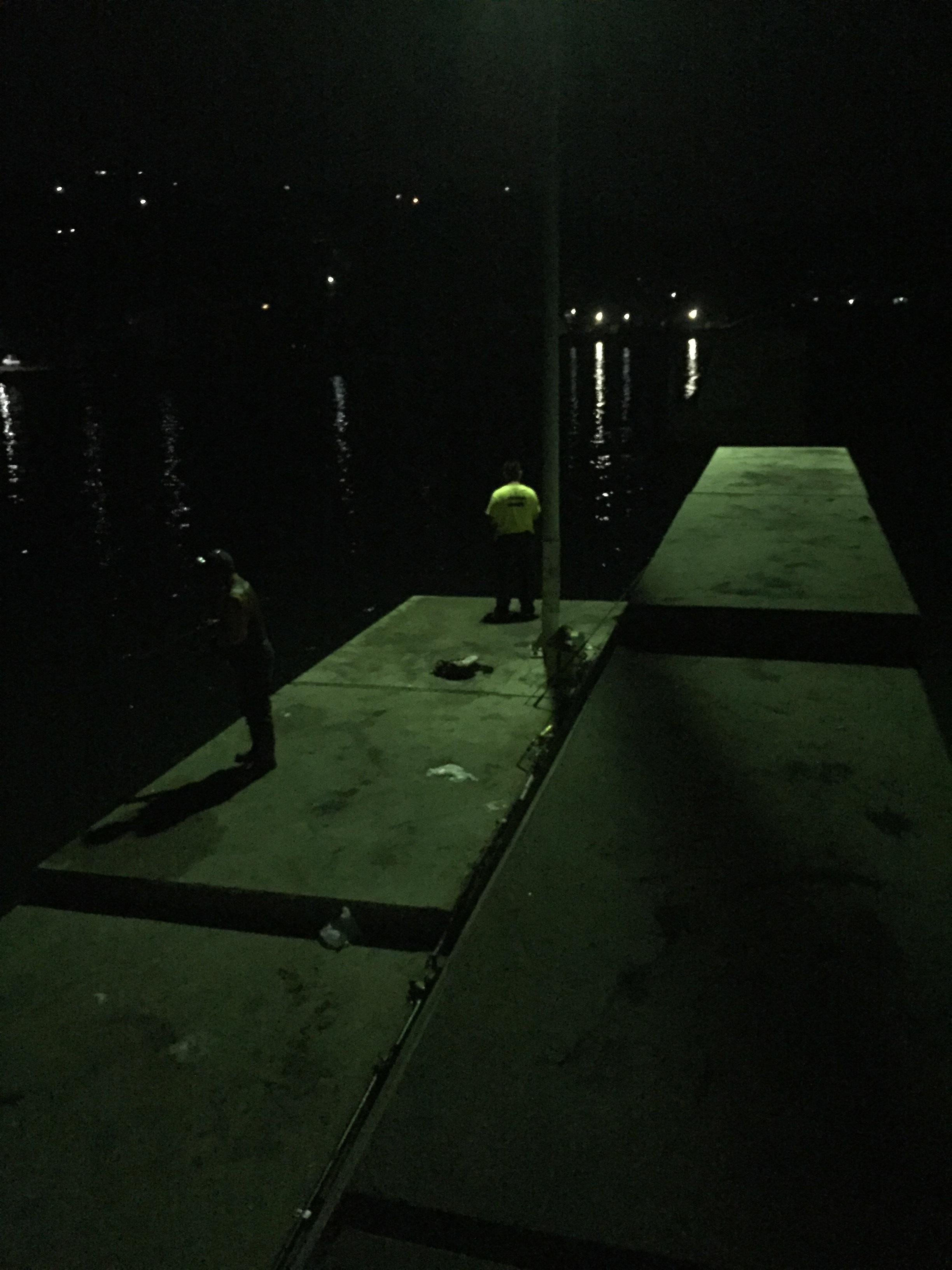 丸山漁港の釣り場紹介、淡路島南淡のエギングとタチウオ狙いにオススメの常夜灯のある漁港