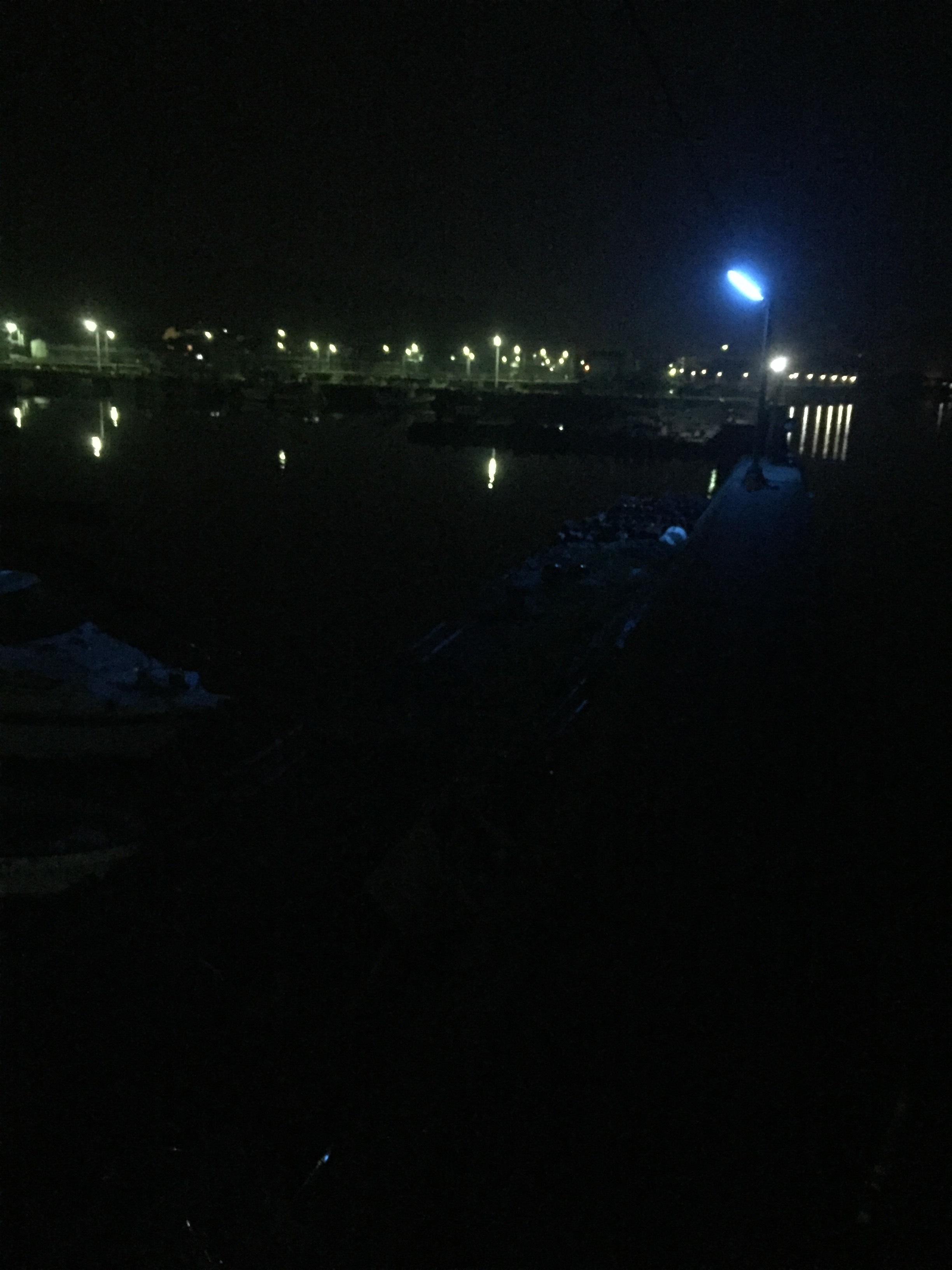 福良漁港の釣り場紹介(淡路島南淡)常夜灯がたくさんあるメバリングとナイトエギングの漁港