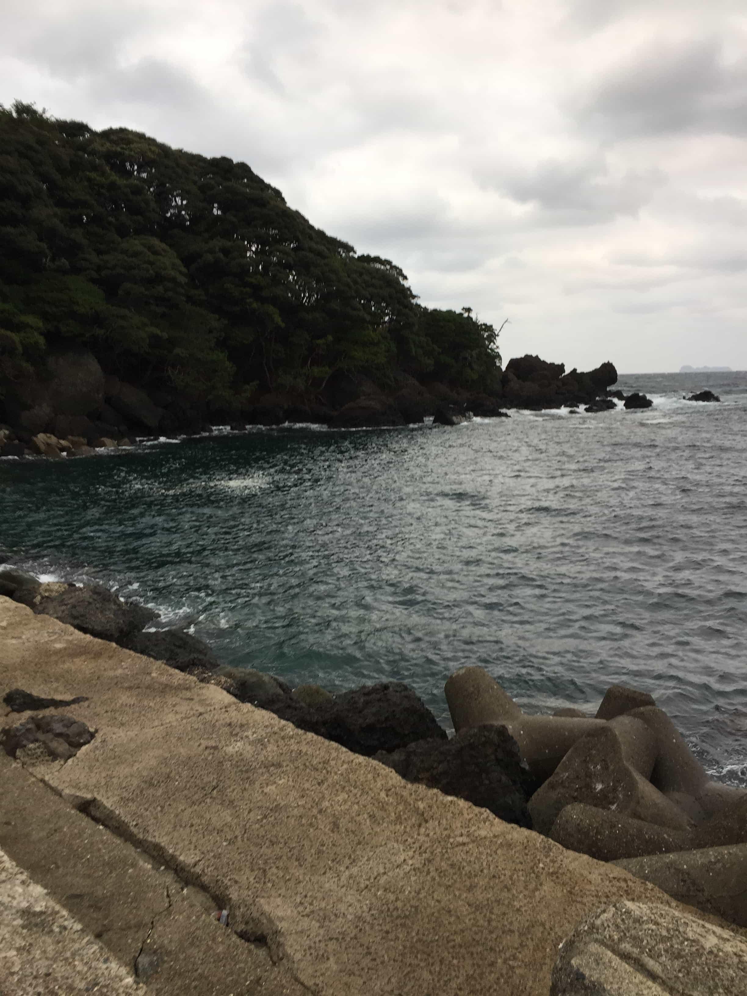 新井崎漁港の釣り場紹介(京都伊根)日本海の北西を避けれる濁りに強い漁港