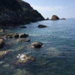 小引地磯の釣り場紹介、和歌山県中紀にある手軽なエギング・シーバス狙いのシャロー地磯