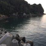 三尾川漁港の釣り場紹介、和歌山県中紀の雨のあとでも濁りにくい春イカ狙い秋イカ狙いのエギングにオススメの漁港