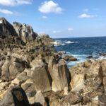 春マサ狙いの経ヶ岬の地磯へ日本海ショアジギング釣行(4月)