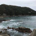 白浜日置の秋イカエギングにオススメのポイント、市江崎漁港の釣り場紹介、和歌山県南紀白浜の漁港