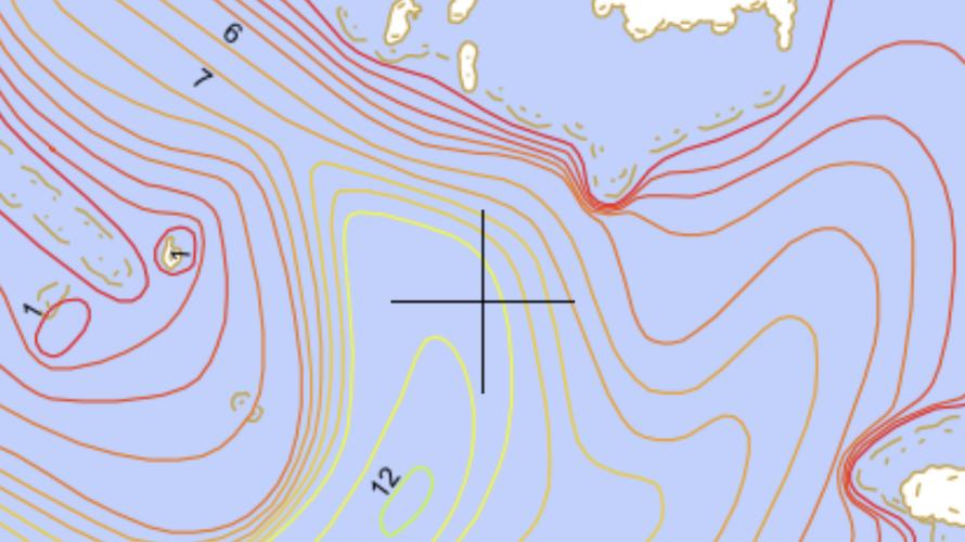 この釣りブログのポイント記事が海図付き海底地形図付き釣り場マップになって生まれ変わります!!!