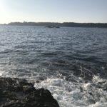 ショアジギングと冬イカ・レッドモンスター狙いにオススメのポイント、コマキノハナの釣り場紹介、和歌山南紀串本の地磯釣り場