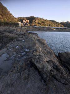 和歌山県串本高富のローソン裏の地磯エギング釣り場紹介