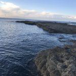 春イカ秋イカ狙いにオススメのエギングポイント、目津崎カンスの釣り場紹介、和歌山県中紀みなべ北西風にちょっと強い地磯
