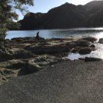 浦神地磯の釣り場紹介、和歌山県南紀那智勝浦の静かな湾でちょこっとエギングができる地磯