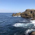 樫野崎弁天の釣り場紹介、和歌山県南紀串本大島の南風が避けられるショアジギングやエギングにオススメの地磯