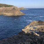 須江崎ジゴクノハナの釣り場紹介、和歌山南紀串本大島のレッドモンスター狙いのエギングにオススメの地磯(北西風に強い)