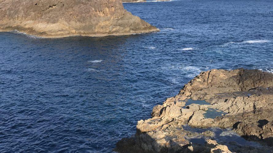 須江崎ジゴクノハナの釣り場紹介、和歌山南紀串本大島のレッドモンスター狙いのエギングにオススメの北西風に強い地磯