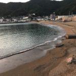 大引漁港と大引海水浴場の釣り場紹介、和歌山県中紀の手軽に行けるエギングとキッシングにオススメの堤防と砂浜