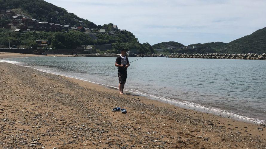 夏にオススメ!足だけ海に入りながらキス釣りや他のライトゲームを楽しめる釣り場