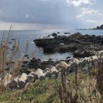 江須之川漁港地磯の釣り場紹介、和歌山南紀の秋イカにオススメの波に強いドシャロー地磯