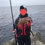 越前岬の沖磯でショアジギング春のヒラマサ狙い釣行