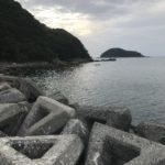 秋イカ狙いのエギングにオススメのポイント、小杭漁港の釣り場紹介、和歌山県中紀の手軽な漁港
