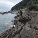 秋のエギングにオススメのポイント紹介!和歌山煙樹ヶ浜横の北風に強い地磯釣り場「潮吹き岩」