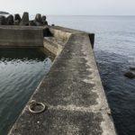 和歌山中紀の春・秋イカ狙いにおすすめのエギングポイント、岩代漁港の釣り場紹介