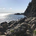 和歌山県中紀の北風に強い春イカエギングポイント方杭地磯の釣り場紹介