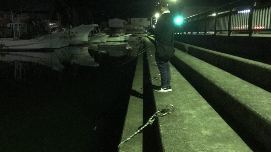 【常夜灯アジング】和歌山南紀のアジング鉄板ポイント霊泉橋の釣り場紹介
