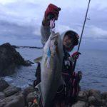 【青物】ショアジギング、カンパチの釣果報告・YOUTUBE動画付き釣行記in和歌山南紀串本(9月)