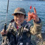 三重春イカエギング・アジング釣行、青物も飛び出す?な感じ藻の調査してきました(3月)