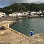 神谷漁港の釣り場紹介、和歌山中紀の常夜灯のあるエギングとアジングにオススメの漁港