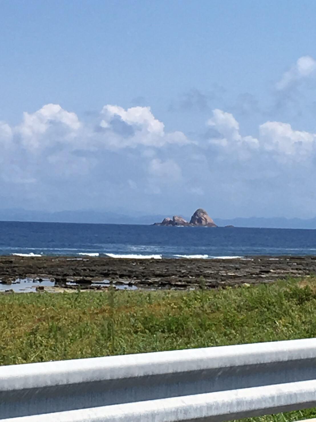 手々~金見のリーフとトンバラ岩の釣り場紹介、鹿児島徳之島南国でショアからGT狙いと幻の沖磯