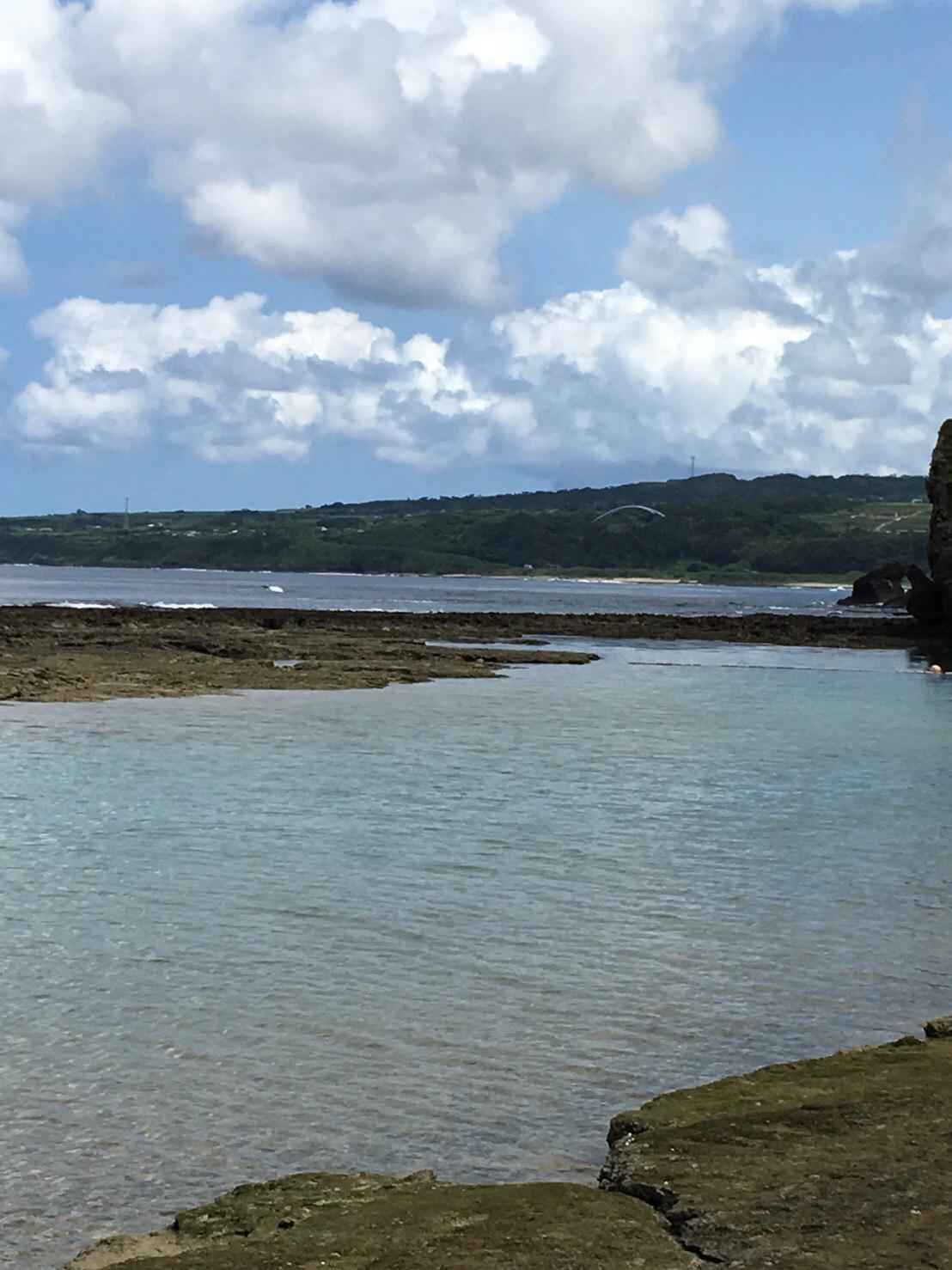 瀬田海海浜公園の釣り場紹介、鹿児島徳之島のリーフからカスミアジ狙いのショアキャスティング