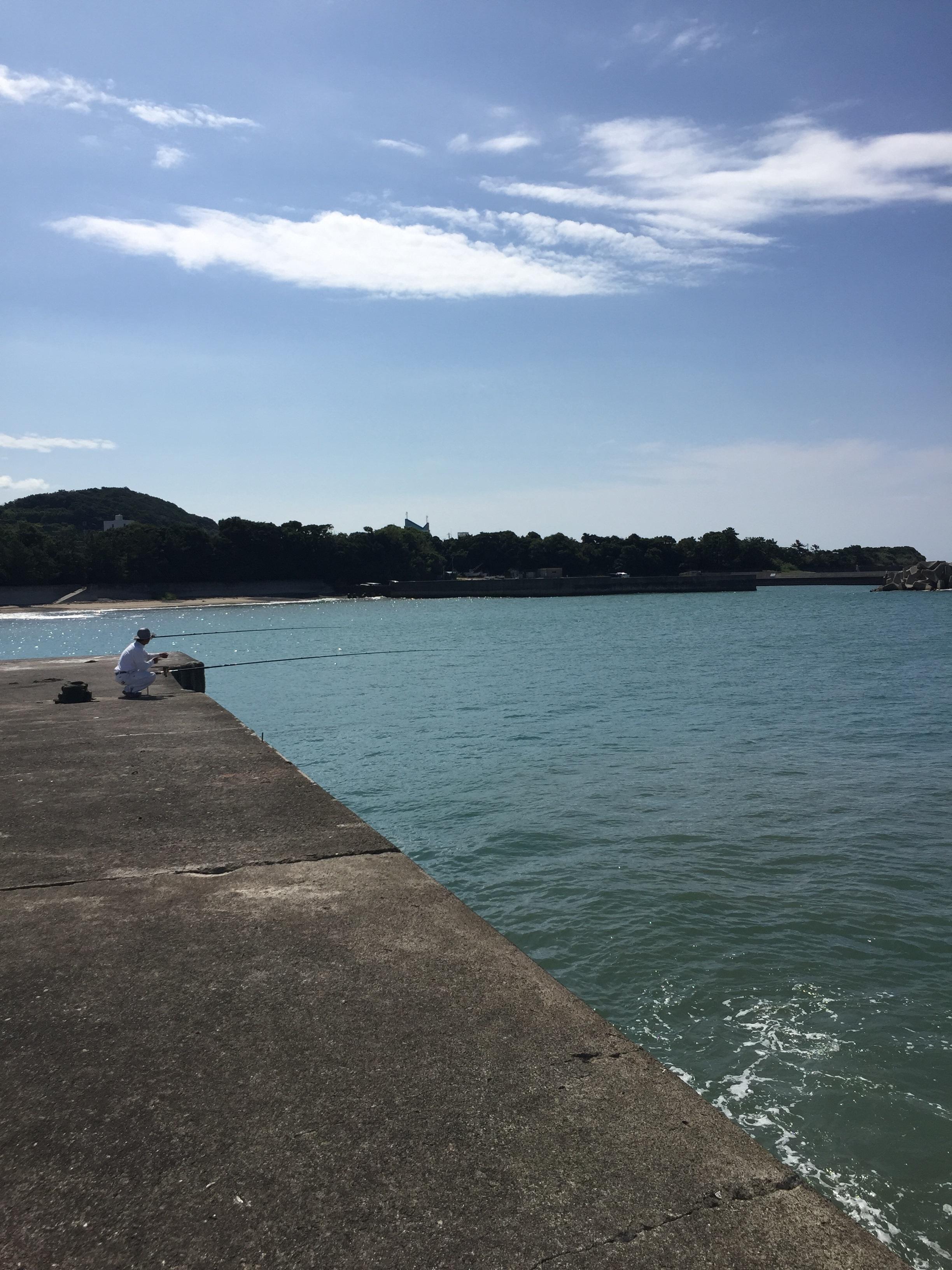 野島漁港の釣り場紹介、和歌山中紀の潮通しのいいエギングとショアジギングにオススメの漁港