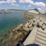 旧大島港の釣り場紹介、和歌山南紀串本大島のエギングとファミリーフィッシングにオススメの静かな漁港
