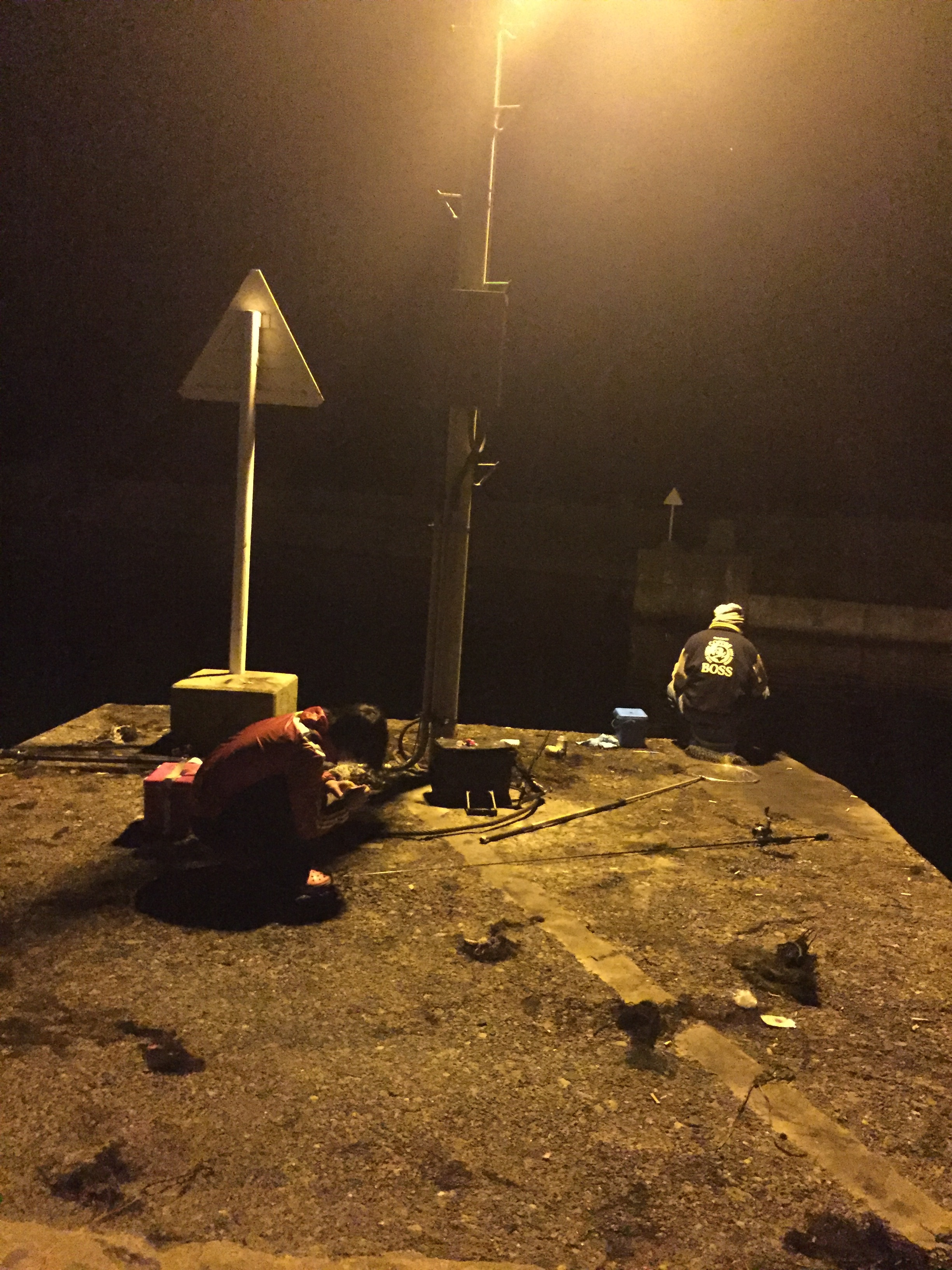 中浜漁港の釣り場紹介、京都丹後のナイトエギングに超オススメの常夜灯のある漁港