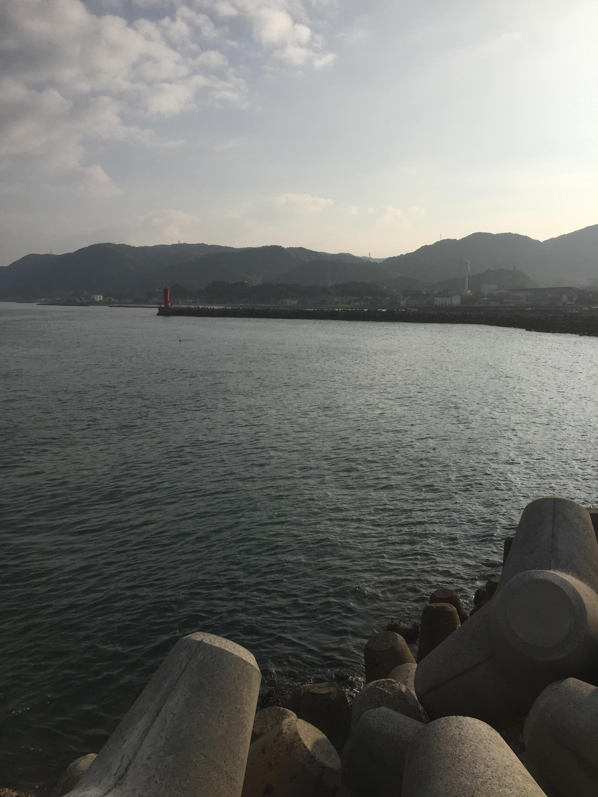 富島漁港の釣り場紹介、淡路島北淡の潮通し抜群エギングとショアジギング