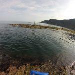 五色浜ヒロイソの釣り場紹介、京都丹後の広くて磯遊びもできるエギングにオススメの地磯