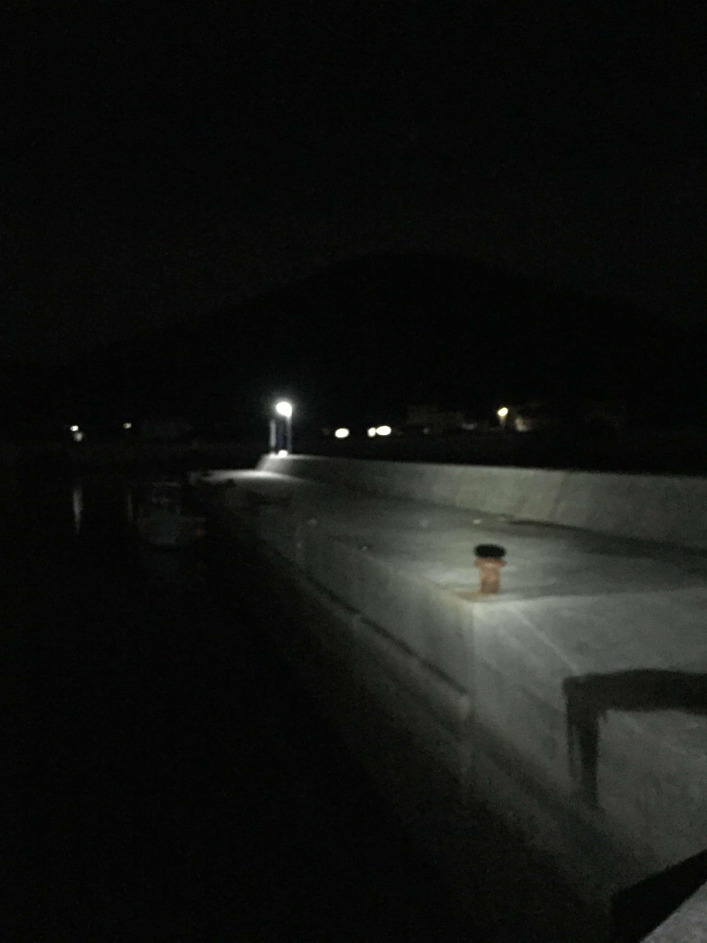 比井漁港の釣り場紹介、和歌山県中紀の常夜灯でナイトエギングのできるオススメの静かな漁港