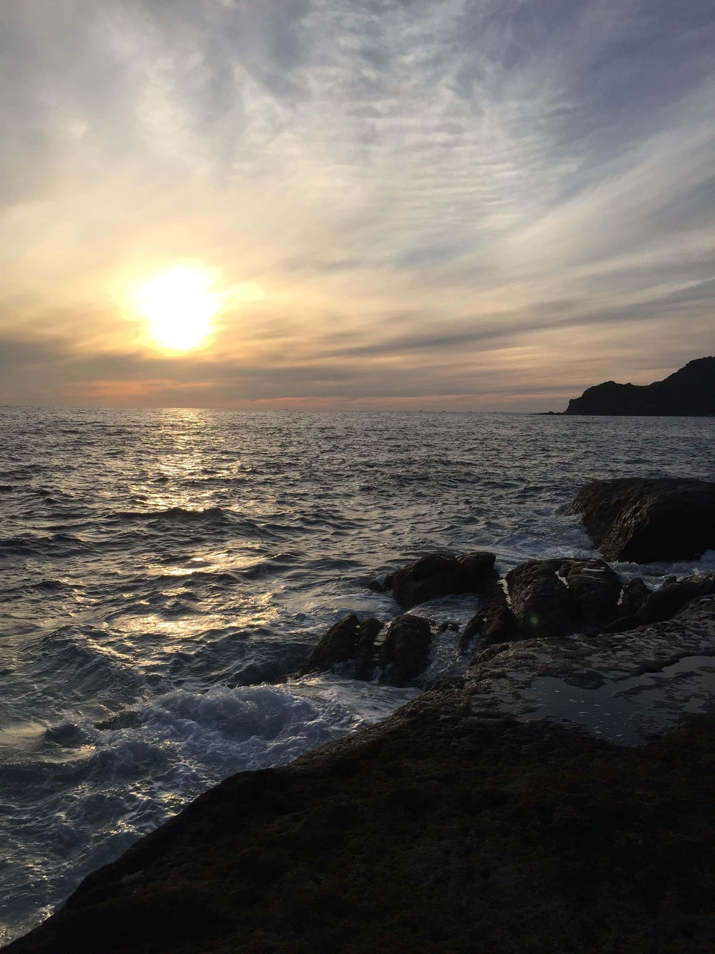 千畳岩の釣り場紹介、和歌山県南紀すさみの黒潮の影響をうけるエギングとショアジギングにオススメの地磯