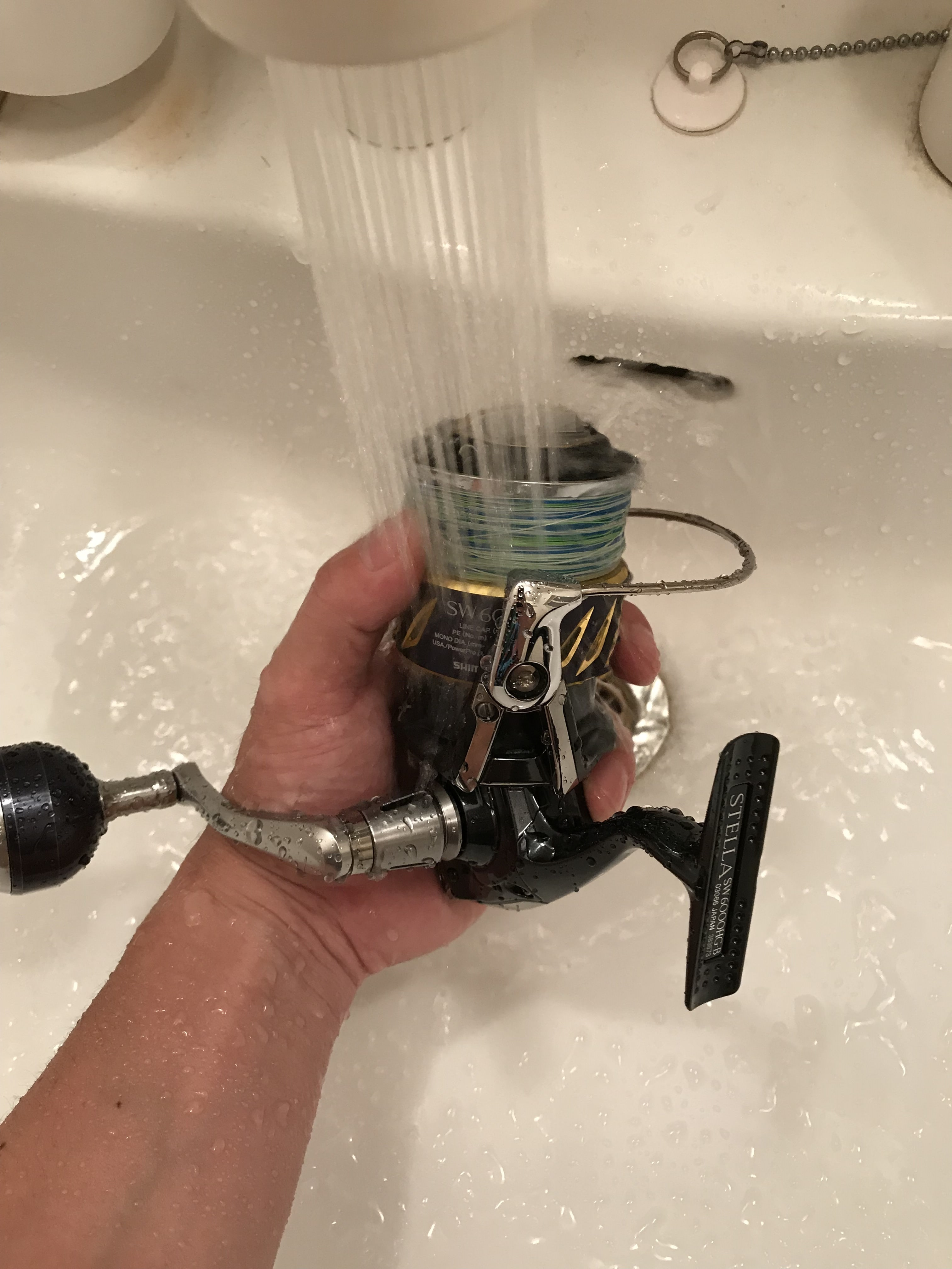 How to care for your fishing reel