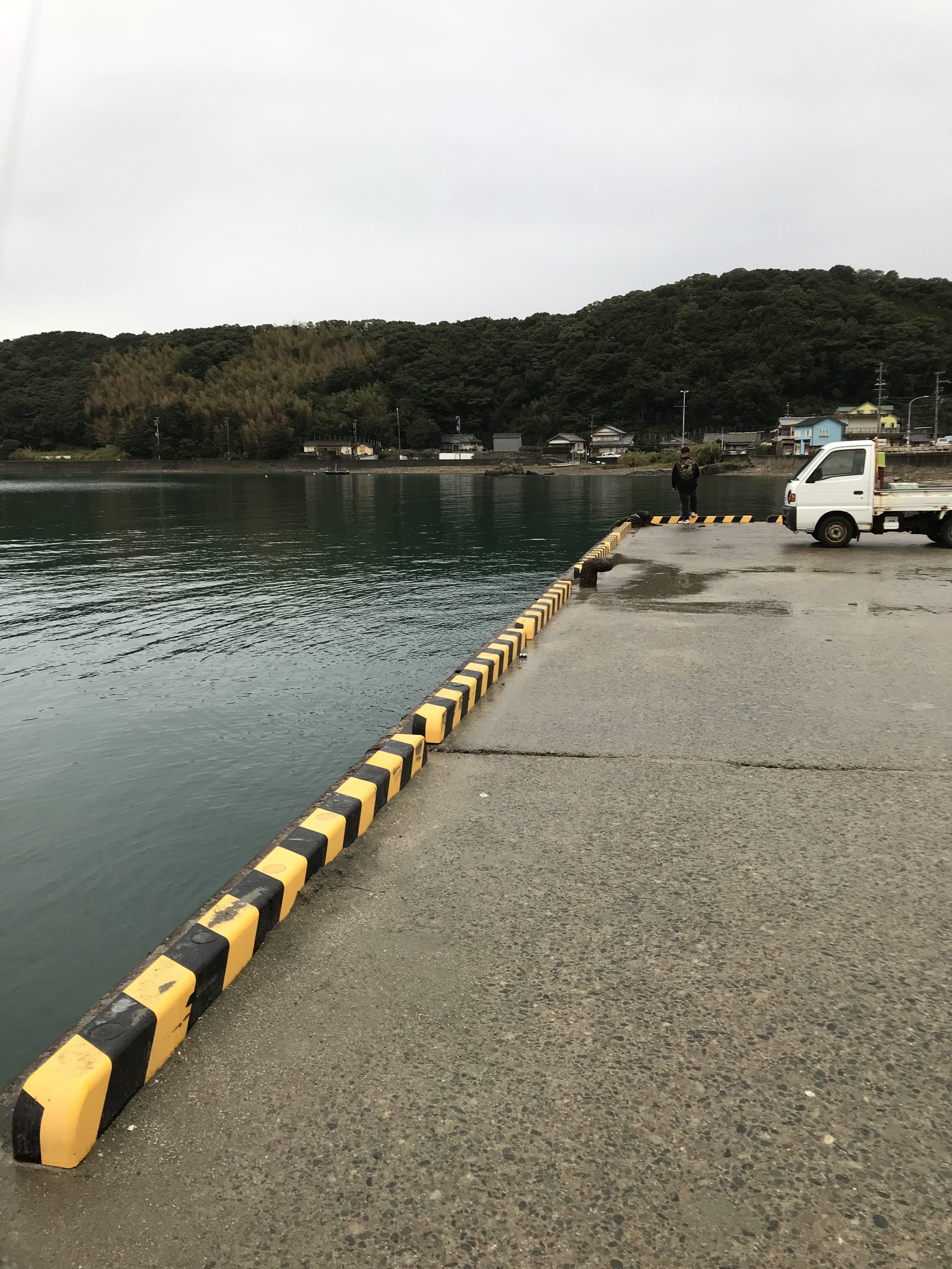 串本袋湾奥の釣り場紹介(和歌山県南紀串本):手軽にエギングファミリーフィッシング
