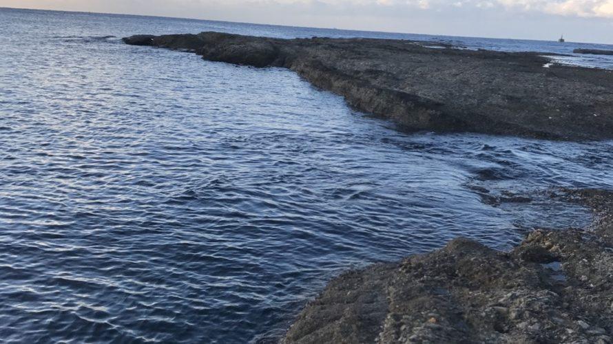 目津崎カンスの釣り場紹介(和歌山県中紀みなべ)北西風に強いエギング地磯