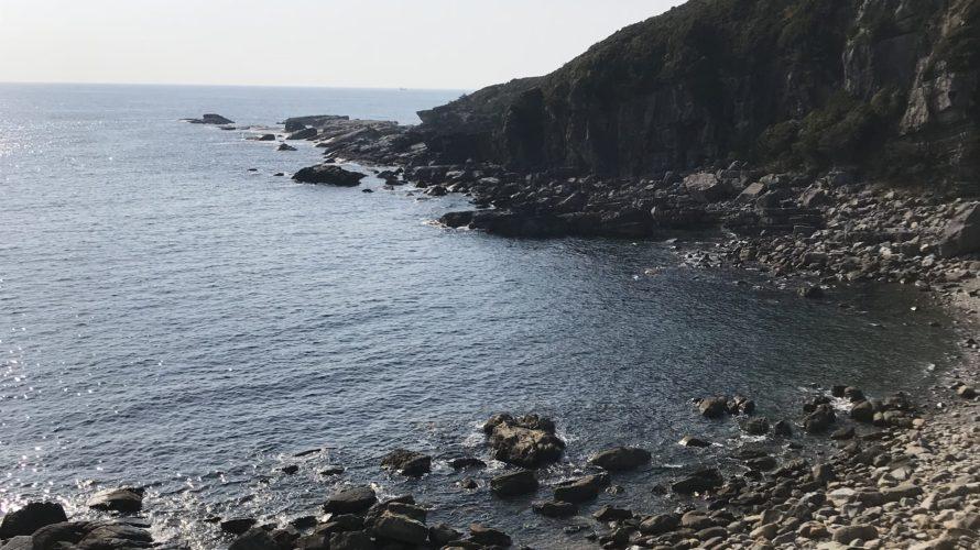 春イカ秋イカにオススメのエギングポイント、和歌山県南紀白浜の安宅崎地磯の釣り場紹介