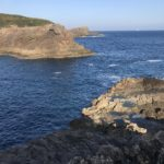 冬イカ狙にオススメのエギングポイント、須江崎ジゴクノハナの釣り場紹介、和歌山南紀串本大島のレッドモンスター狙いの北西風に強い地磯