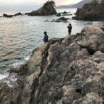 福井県大飯高浜のエギングにオススメのポイント、城山公園地磯の釣り場紹介、手軽な地磯でエギングとロックフィッシュ