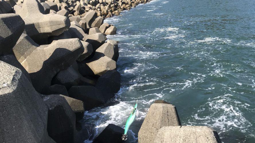 早瀬漁港(マリンポート美浜)の釣り場紹介(福井県敦賀)のんびり大堤防でエギングとキス釣り