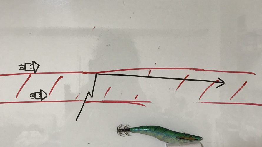 深場を狙う冬のエギングのコツと潮を釣る回遊待ちエギングのポイント