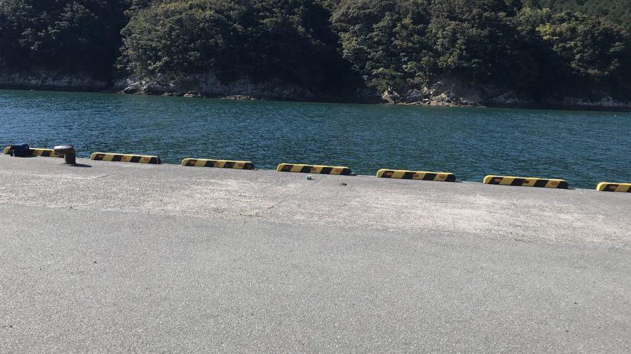 那佐の釣り場紹介、徳島県海陽町の春イカエギングにオススメの北風に強い堤防