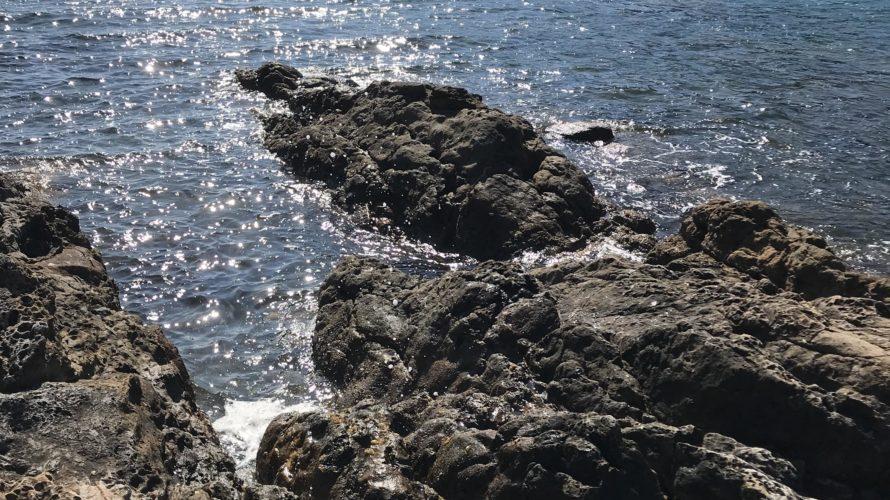 那佐の地磯の釣り場紹介、徳島県海陽町の春イカエギングにオススメの北風に強いシャロー地磯